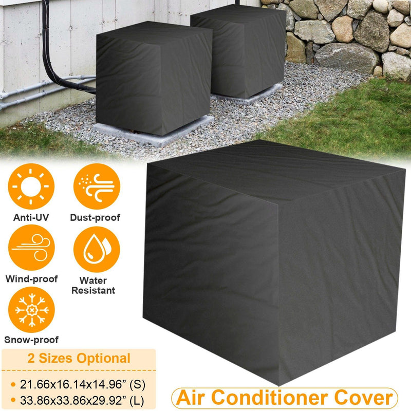 Air Conditioner Cover Outdoor Water-Resistant Home Improvement - DailySale