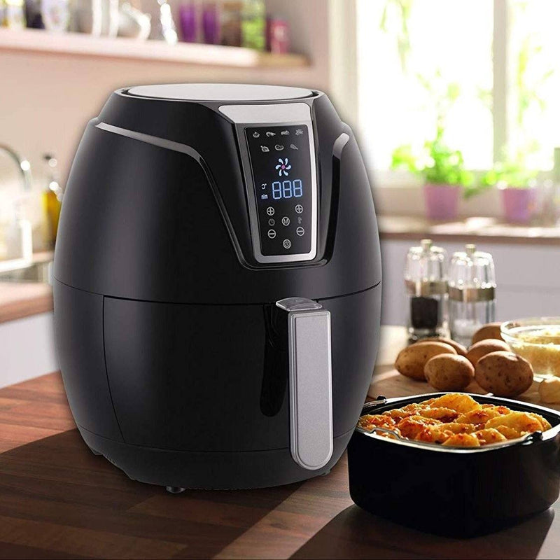 Air Fryer with Digital LED Touch Display 1400 Watts - 3.2L Capacity Kitchen Essentials - DailySale