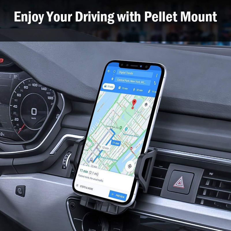 Air Vent Car Phone Mount Most Convenient Cell Phone Holder Phones & Accessories - DailySale
