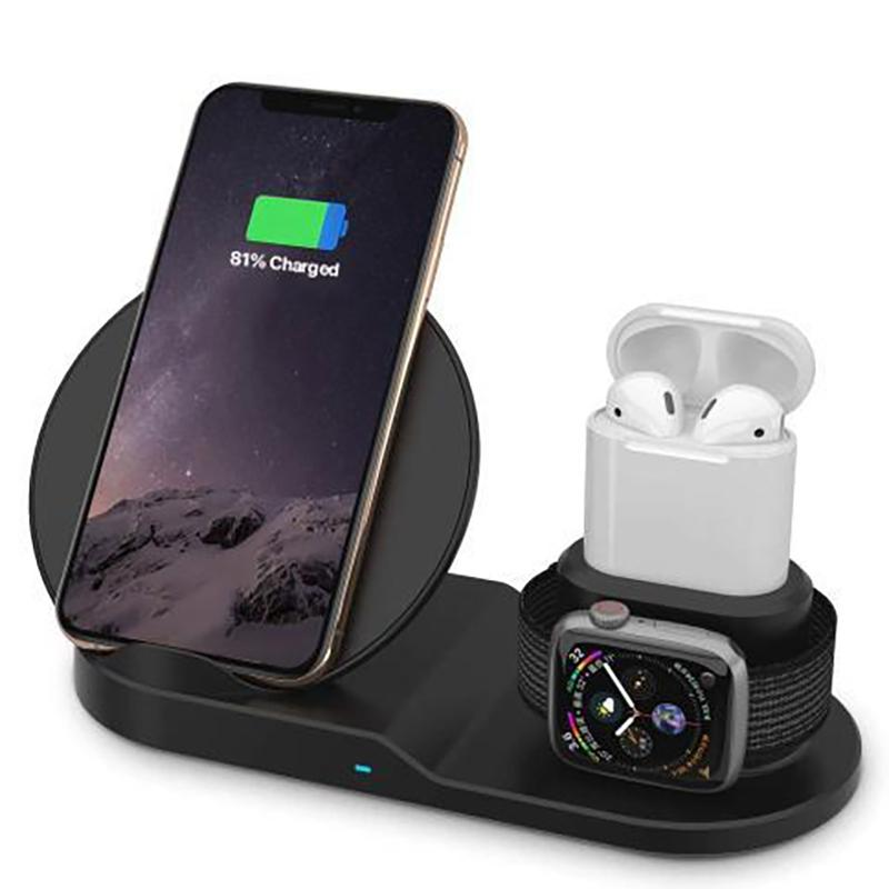 AirDock 3-in-1 Wireless Power Charging Station Gadgets & Accessories - DailySale