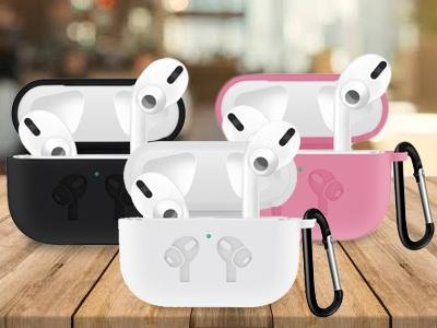 Airpods Pro Protective Case With Carabiner Gadgets & Accessories - DailySale
