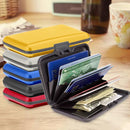 Aluminum RFID Blocking Credit Card Wallet Case Handbags & Wallets - DailySale