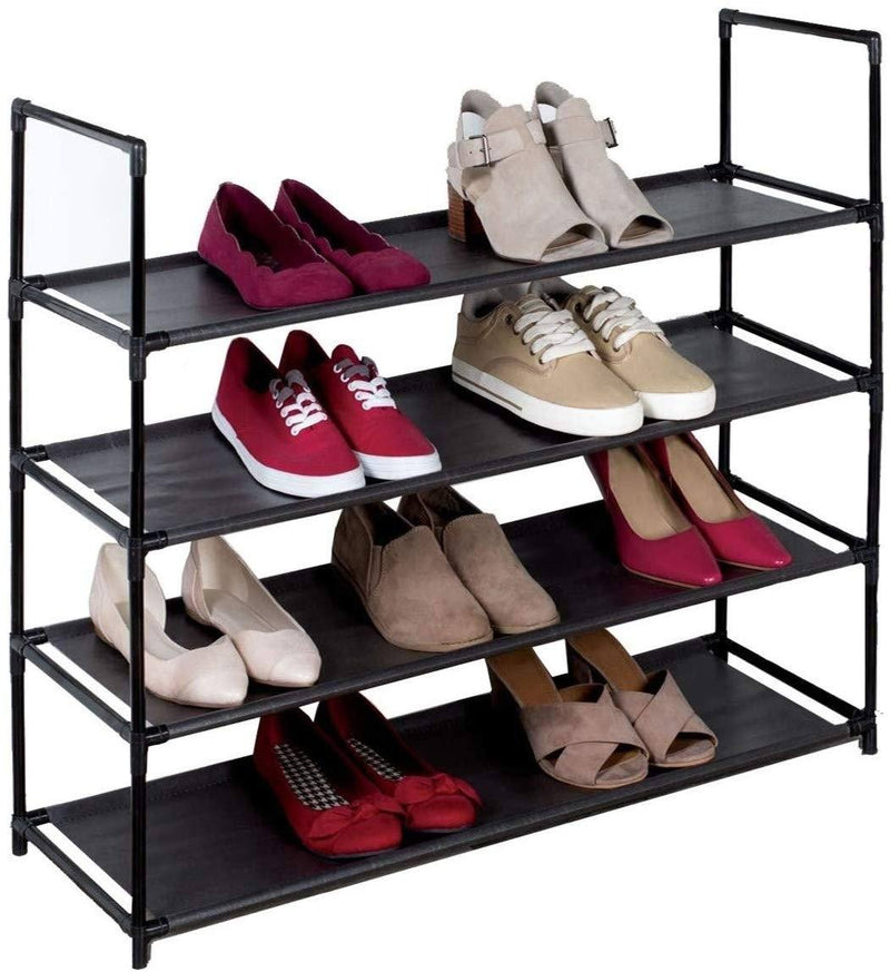 American Dream Home Goods Organizer Shoe Rack Home Essentials Black - DailySale