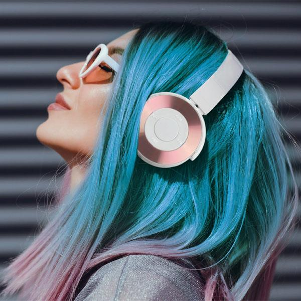 Amplify Metallic Wireless Stereo Headphones Headphones & Speakers - DailySale