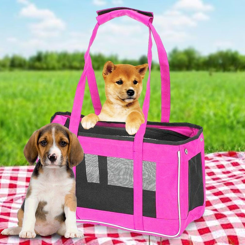 Animal Heaven Easy Travel Pet Carrier Pet Supplies - DailySale