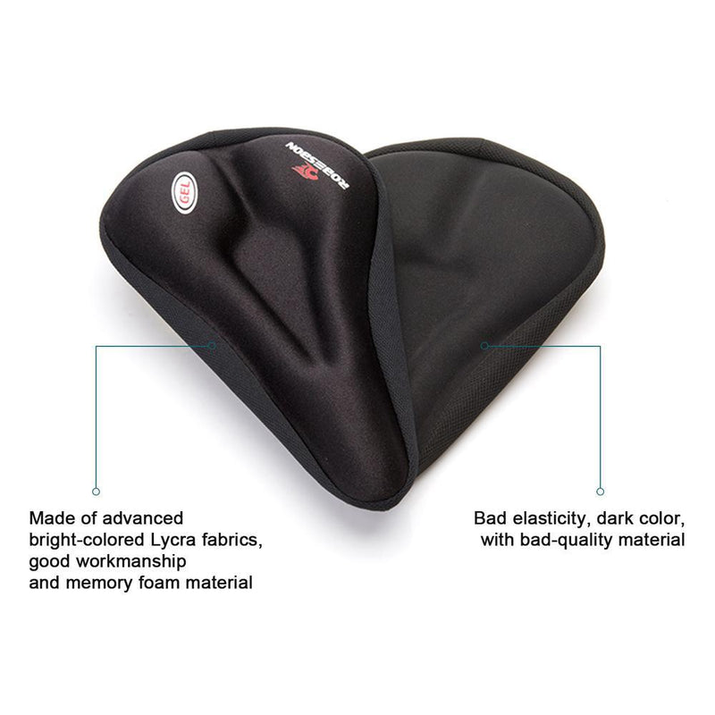 Anti-Slip Silicone Gel Pad Cushion Seat - Saddle Cover for Bike Bicycle Cycling Sports & Outdoors - DailySale