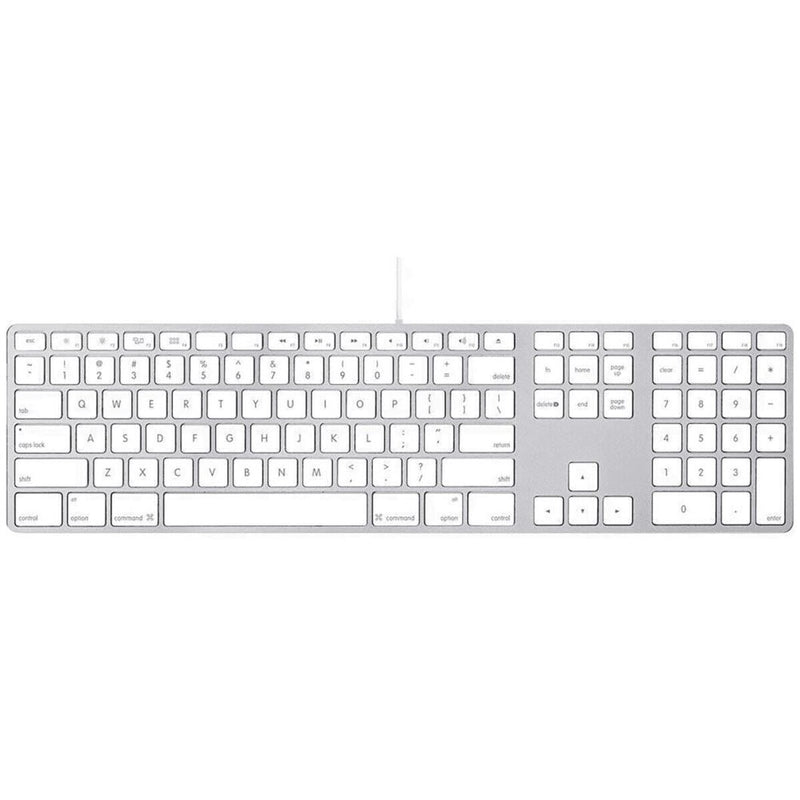 Apple Aluminum Wired Keyboard Computer Accessories - DailySale