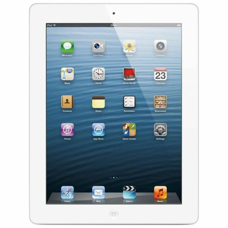 Apple iPad 4 with Retina Display - Assorted Colors and Sizes Tablets & Computers 16GB White - DailySale