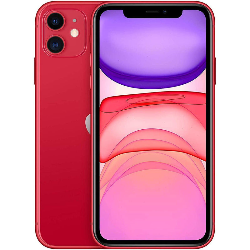 Apple iPhone 11 64GB Cell Phones Red - DailySale