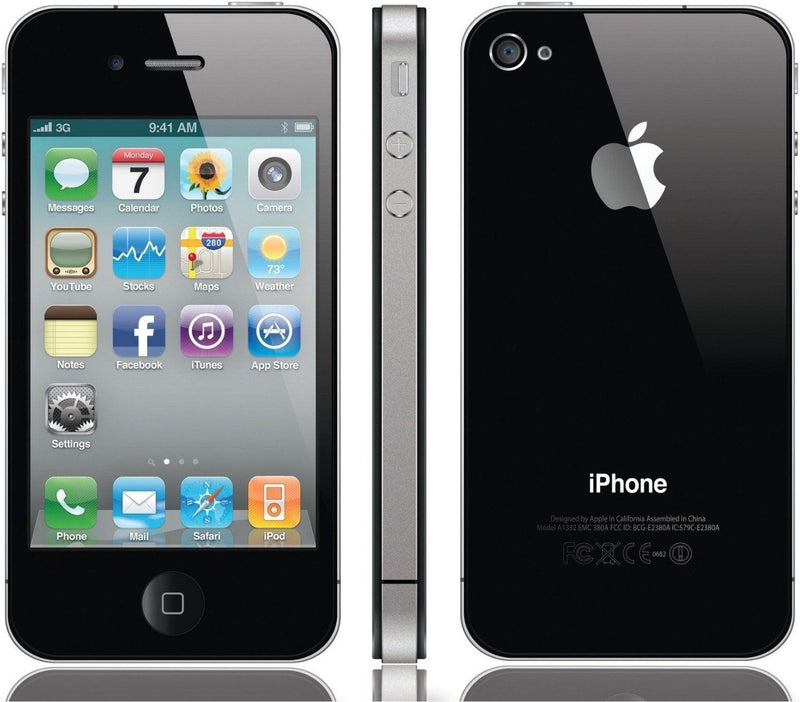 Apple iPhone 4 Verizon - Assorted Colors and Sizes Phones & Accessories 8GB Black - DailySale