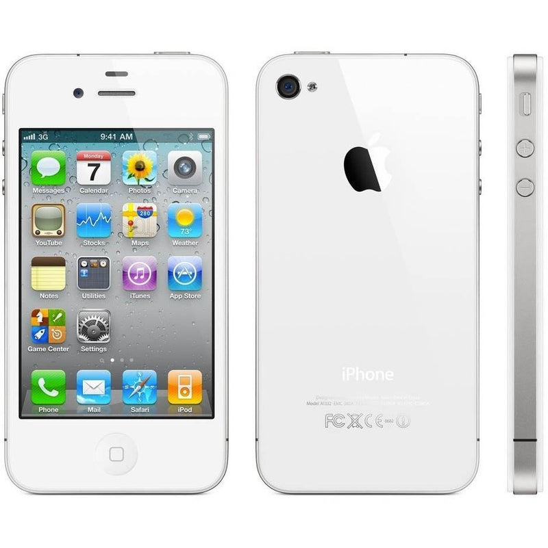 Apple iPhone 4 Verizon - Assorted Colors and Sizes Phones & Accessories 8GB White - DailySale