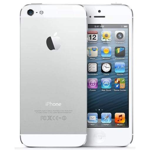Apple iPhone 5 GSM Unlocked - Assorted Sizes and Colors Phones & Accessories 16GB White - DailySale