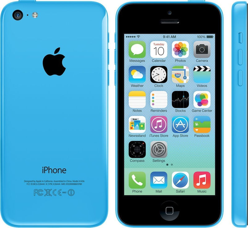 Apple iPhone 5C GSM Unlocked Phones & Accessories 16GB Blue - DailySale