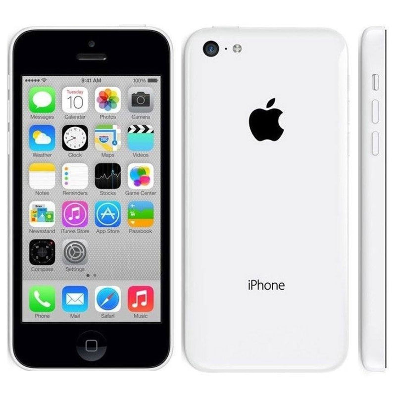 Apple iPhone 5C GSM Unlocked Phones & Accessories 8GB White - DailySale