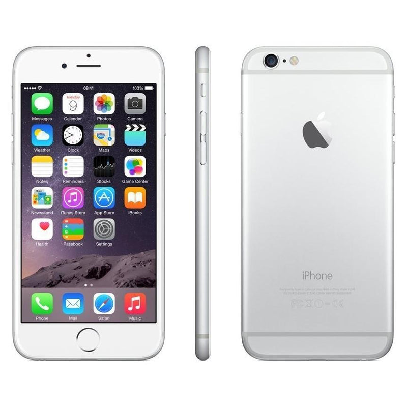 Apple iPhone 6 Factory GSM Unlocked Smartphone Phones & Accessories 16GB Silver - DailySale