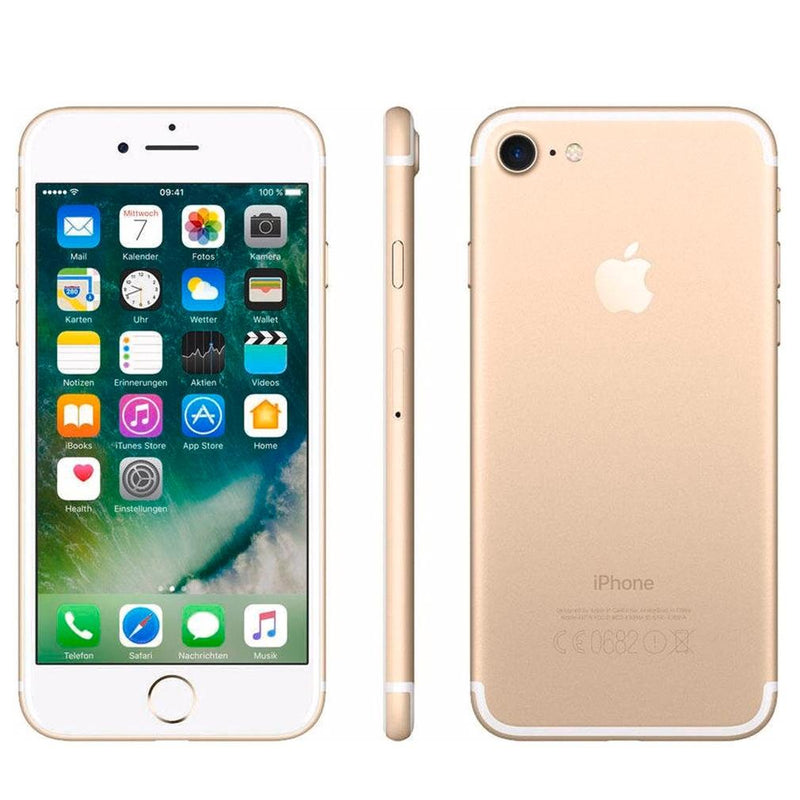 Apple iPhone 7 Fully Unlocked - Assorted Colors and Sizes Phones & Accessories 32GB Gold - DailySale