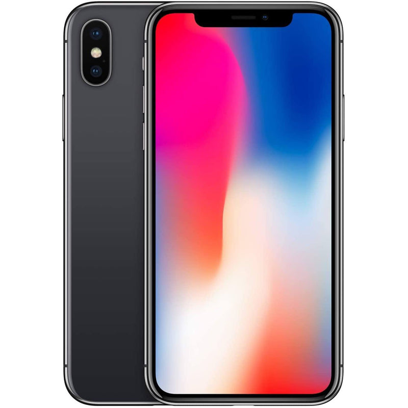 Apple iPhone X for AT&T Cricket & H2O Cell Phones 64GB Gray - DailySale
