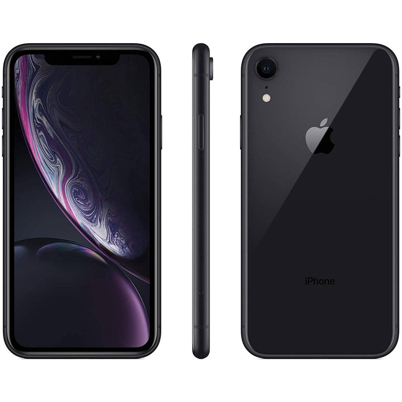 Apple iPhone XR for AT&T Cricket & H2O Cell Phones Black 64GB - DailySale