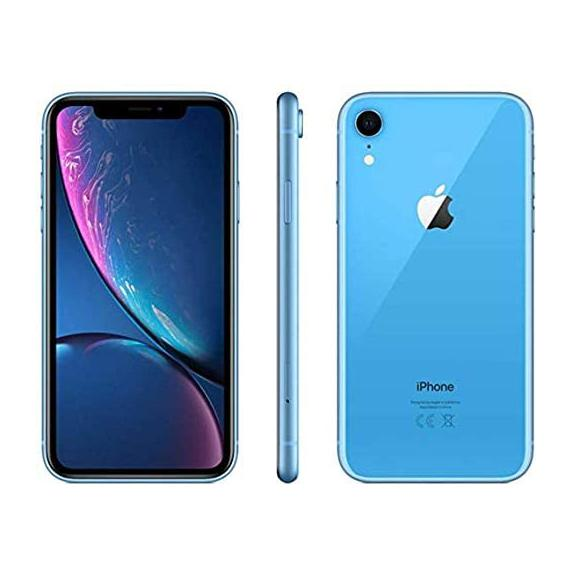 Apple iPhone XR for AT&T Cricket & H2O Cell Phones Blue 64GB - DailySale