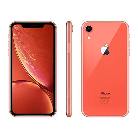 Apple iPhone XR for AT&T Cricket & H2O Cell Phones Coral 64GB - DailySale