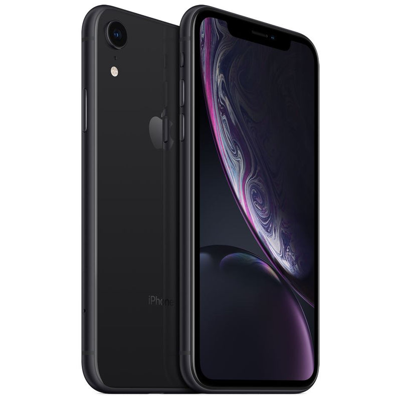 Apple iPhone XR - Fully Unlocked Cell Phones 64GB Black - DailySale