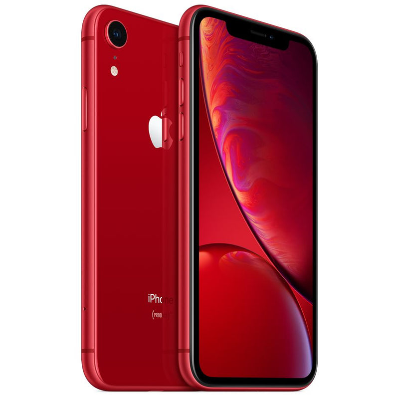 Apple iPhone XR - Fully Unlocked Cell Phones 64GB Red - DailySale