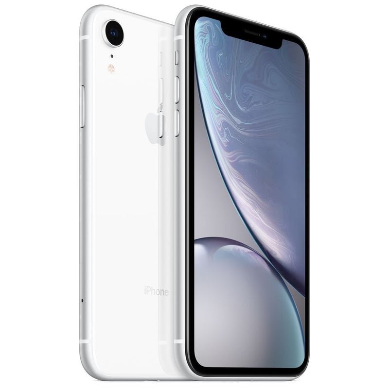 Apple iPhone XR - Fully Unlocked Cell Phones 64GB White - DailySale