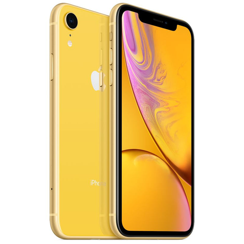 Apple iPhone XR - Fully Unlocked Cell Phones 64GB Yellow - DailySale