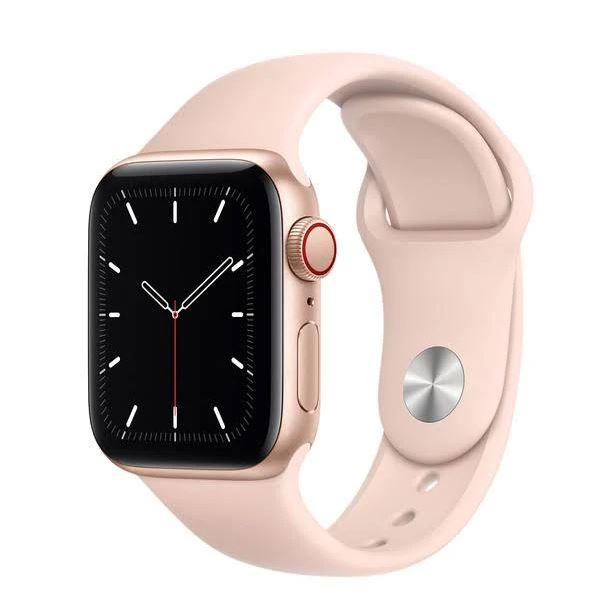 Apple Watch Series 4 GPS + Cellular 4G Smart Watches Rose Gold 40mm - DailySale