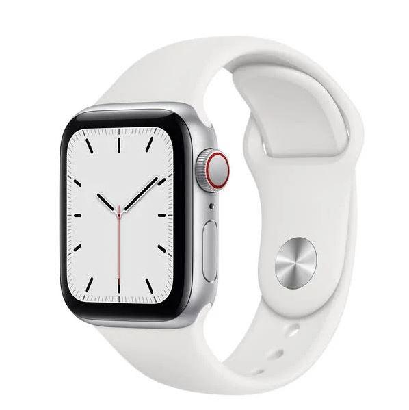 Apple Watch Series 4 GPS + Cellular 4G Smart Watches White 40mm - DailySale