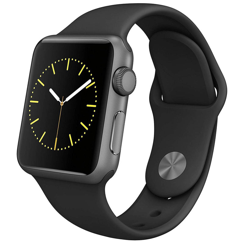 Apple Watch Smartwatch - Assorted Sizes and Colors Gadgets & Accessories 38mm Black - DailySale
