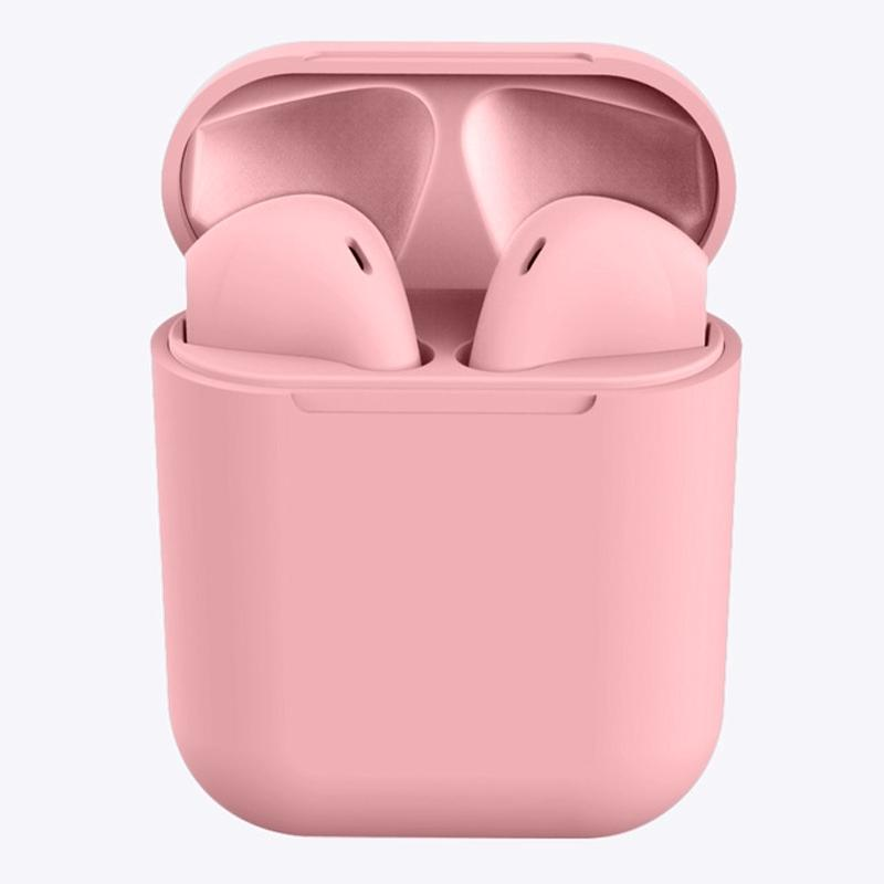 Arenaceous Matt Colored Ear Buds - Assorted Colors Headphones & Speakers Pink - DailySale