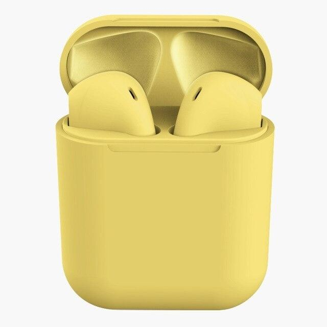Arenaceous Matt Colored Ear Buds - Assorted Colors Headphones & Speakers Yellow - DailySale