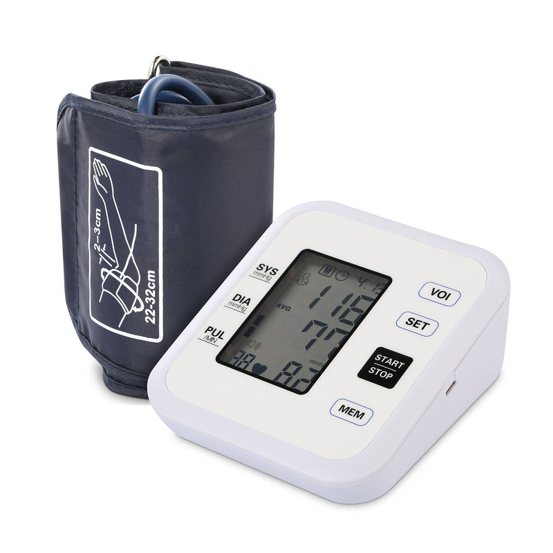 Arm Blood Pressure Monitor with Adjustable Cuff Wellness - DailySale