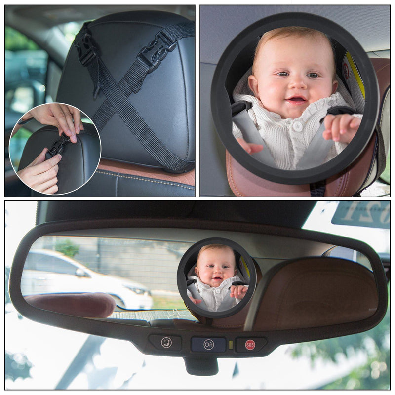 Baby Back Seat Car Mirror Baby - DailySale