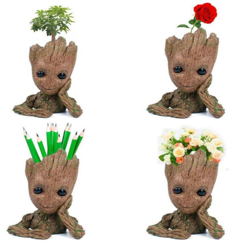 Baby Groot Figure Flowerpot Decor Home Essentials - DailySale