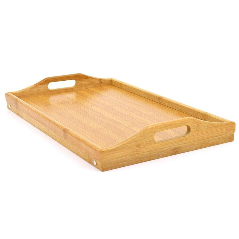 Bamboo Bed Tray/Laptop Lap Desk Home Essentials - DailySale