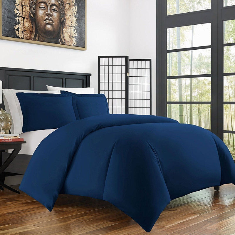 Bamboo Duvet Cover Set - Hypoallergenic - Assorted Sizes and Colors Linen & Bedding - DailySale