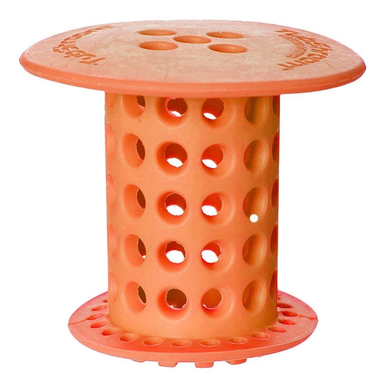 Bathtub Drain Protector and Strainer - Assorted Colors Home Essentials Orange - DailySale