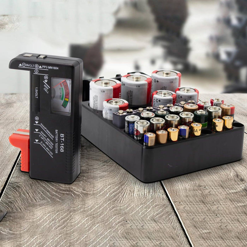 Battery Tester and Storage Case Organizer Everything Else - DailySale