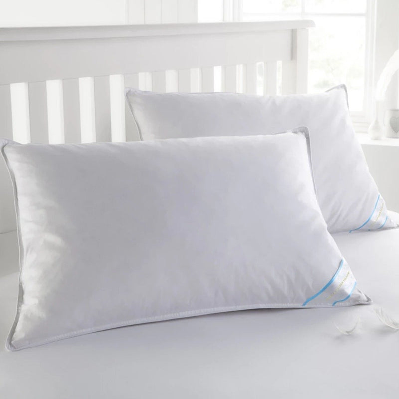 Beauty Sleep 100% Cotton-Covered Duck Feather Pillows Linen & Bedding - DailySale