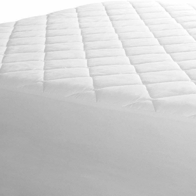 Beauty Sleep Ultra Soft Quilted Mattress Pad Hypoallergenic Linen & Bedding - DailySale