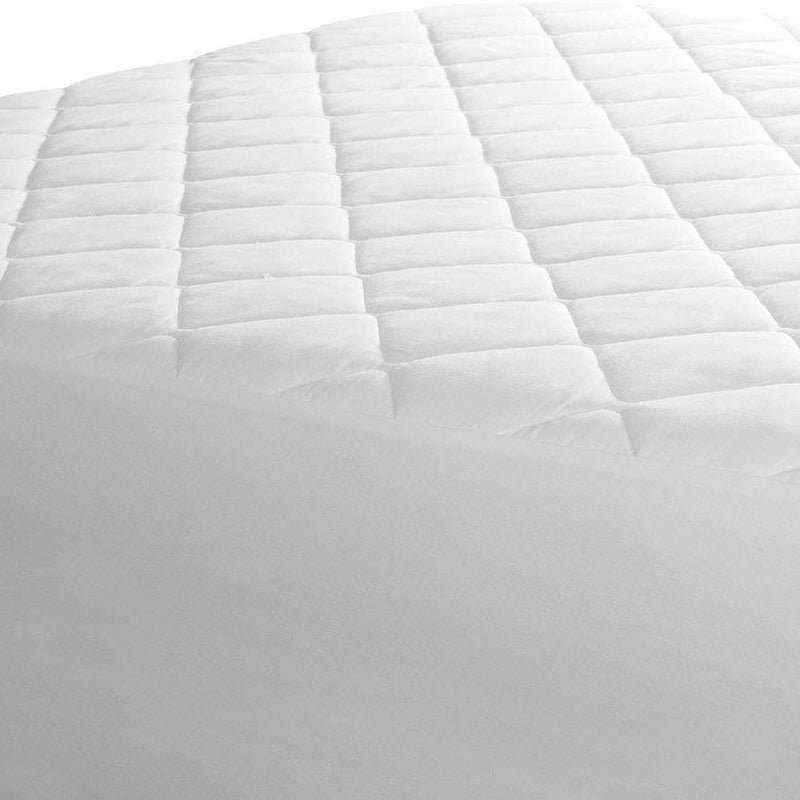 Beauty Sleep Ultra Soft Quilted Mattress Pad Protector Hypoallergenic - Assorted Sizes Linen & Bedding - DailySale