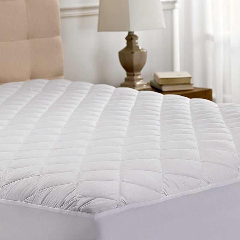 Beauty Sleep Ultra Soft Quilted Mattress Pad Protector Hypoallergenic - Assorted Sizes Linen & Bedding Twin XL - DailySale