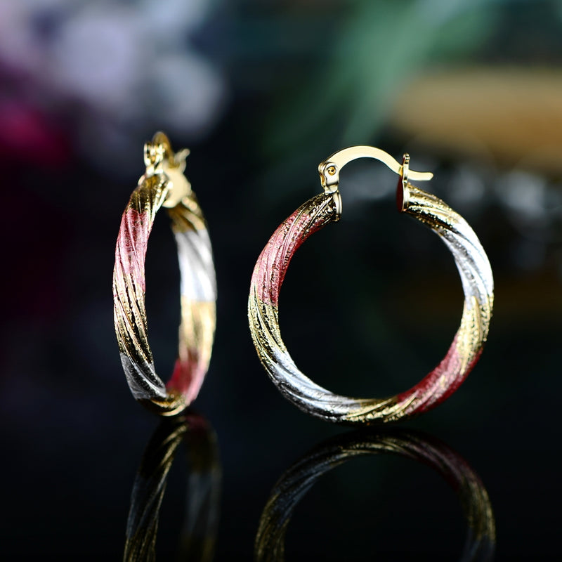 Multi Gold Hoop Earrings - Assorted Styles - DailySale, Inc