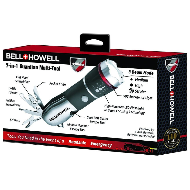 Bell + Howell 7-in-1 Guardian Multi-Tool Sports & Outdoors - DailySale