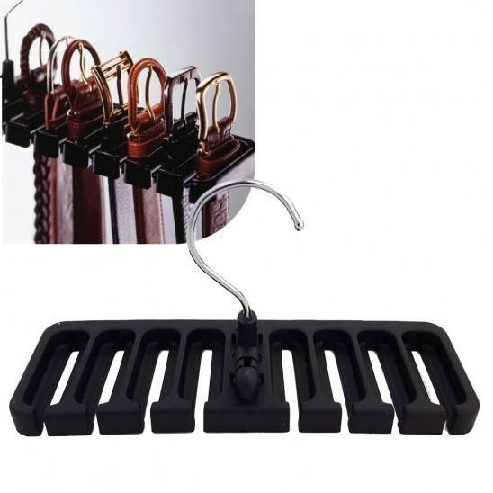Belt Organizer Closet Hanger Home Essentials - DailySale