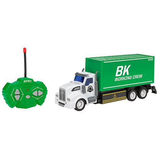 Big Kid's 1:48 RC Truck Toys & Hobbies Container Truck - DailySale