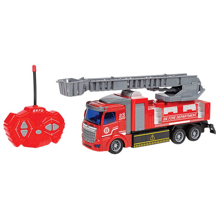 Big Kid's 1:48 RC Truck Toys & Hobbies Fire Truck - DailySale