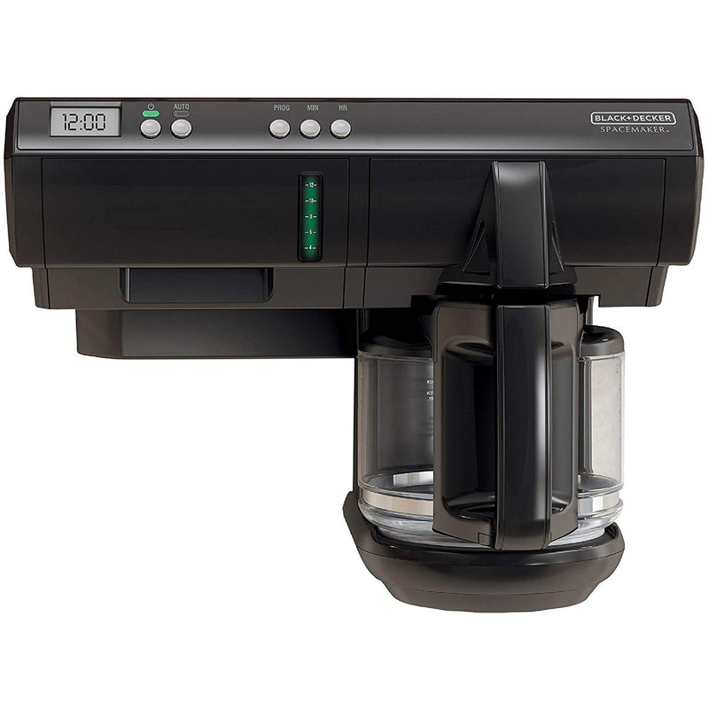 Black & Decker Spacemaker Programmable Coffeemaker Kitchen & Dining Black - DailySale